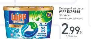 Oferta de Detergente WiPP Express por 2.99€