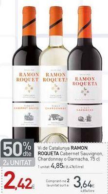 Oferta de Vino Ramón Roqueta por 3.64€