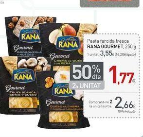 Oferta de Pasta fresca Rana por 2.66€