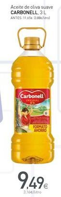 Oferta de Aceite de oliva Carbonell por 9.49€