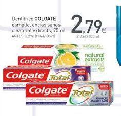 Oferta de Dentífrico Colgate por 2.79€