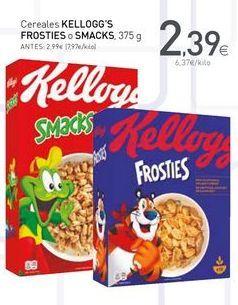 Oferta de Cereales Kellogg's por 2.39€