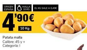 Oferta de Patatas por 4.9€