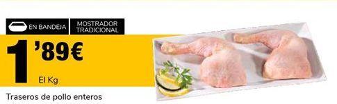 Oferta de Traseros de pollo por 1.89€