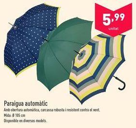 Oferta de Paraguas automático  por 5.99€