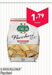 Oferta de Paccheri IL GUSTO DELL'ITALIA por 1.79€