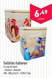 Oferta de Galletas italianas  por 6.49€