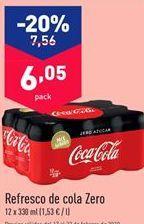 Oferta de Coca-Cola por 6.05€