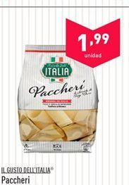 Oferta de Paccheri IL GUSTO DELL'ITALIA por 1.99€