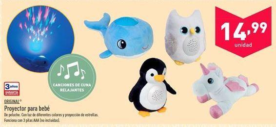 Oferta de Proyector para bebé Original  por 14.99€