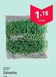 Oferta de Guisantes FLETE por 1.15€