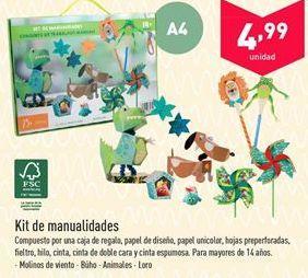 Oferta de Kit de manualidades  por 4.99€