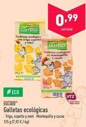 Oferta de Galletas ecológicas gutbio por 0.99€