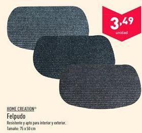 Oferta de Felpudo Home Creation  por 3.49€