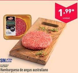 Oferta de Hamburguesas de angus australiano EL POZO por 1.99€