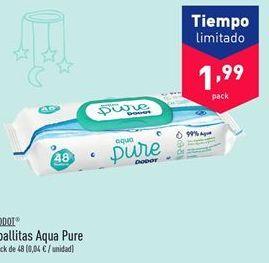 Oferta de Toallitas Aqua Pure por 1.99€