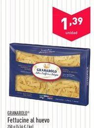 Oferta de Fettucine al huevo GRANAROLO por 1.39€