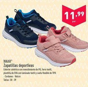 Oferta de Zapatillas deportivas Walkx  por 11.99€