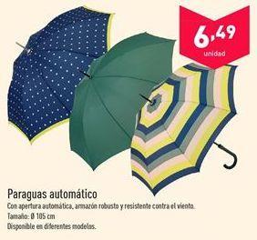 Oferta de Paraguas automático  por 6.49€