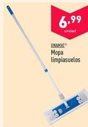 Oferta de Mopa limpiasuelos Unamat  por 6.99€