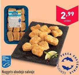 Oferta de Nuggets abadejo salvaje por 2.99€