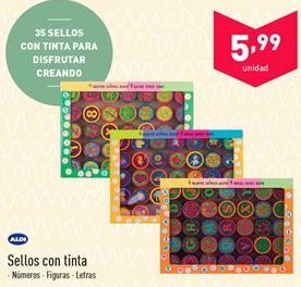 Oferta de Sellos con tinta  por 5.99€