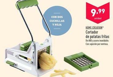 Oferta de Cortador de patatas fritas Home Creation  por 9.99€