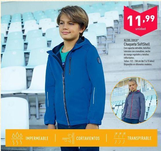 Oferta de Chaqueta SoftShell  por 11.99€