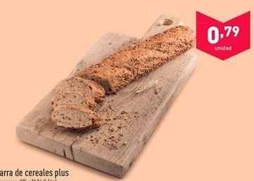 Oferta de Barra de cereales por 0.79€