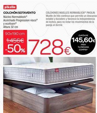 Oferta de Colchones sotavento Pikolin por 728€