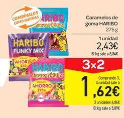 Oferta de Caramelos de goma Haribo por 2.43€