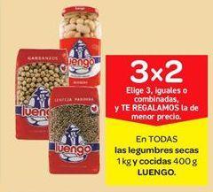 Oferta de Legumbres secas y cocidas Luengo por
