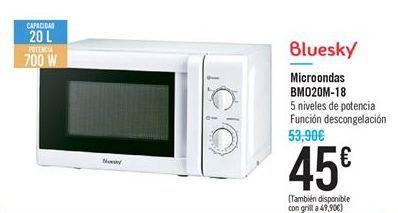 Oferta de Microondas BM020M-18 por 45€