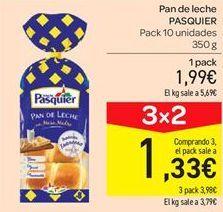Oferta de Pan de leche Pasquier por 1.99€