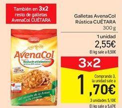 Oferta de Galletas Avenacol rústica Cuétara por 2.55€