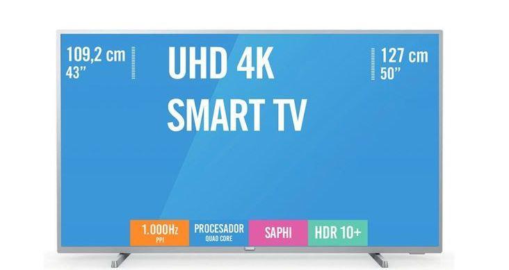 Oferta de TV 43PU S6554/ 12 Philips por 299€