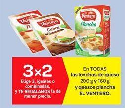 Oferta de Lonchas de queso El Ventero por