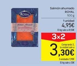 Oferta de Salmón ahumado Royal por 4.95€