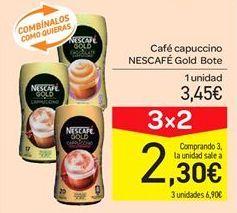 Oferta de Café capuccino Nescafé Gold bote por 3.45€