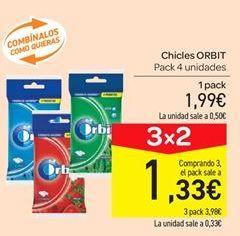 Oferta de Chicles Orbit por 1.99€