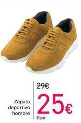 Oferta de Zapato deportivo hombre por 25€