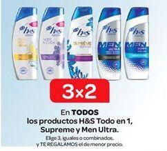 Oferta de Productos para el cabello h&s por