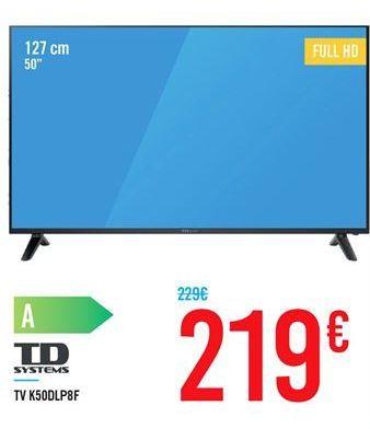 Oferta de TV K50DLP8F por 219€