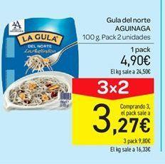 Oferta de Angulas Gula del Norte Aguinaga por 4.9€
