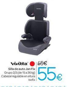 Oferta de Silla de auto Jan Fix por 55€