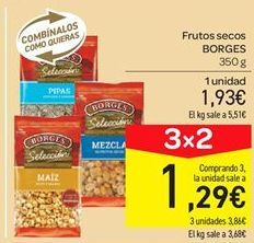 Oferta de Frutos secos Borges por 1.93€