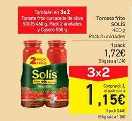 Oferta de Tomate frito Solís por 1.72€