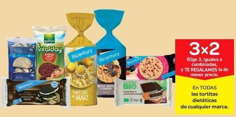 Oferta de En TODAS las tortitas dietéticas de cualquier marca por