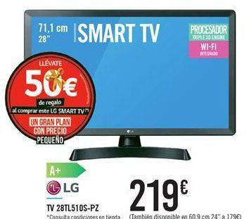 Oferta de TV 28TL510S-PZ por 219€