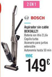 Oferta de Aspirador sin cable BCH3ALL21 por 149€